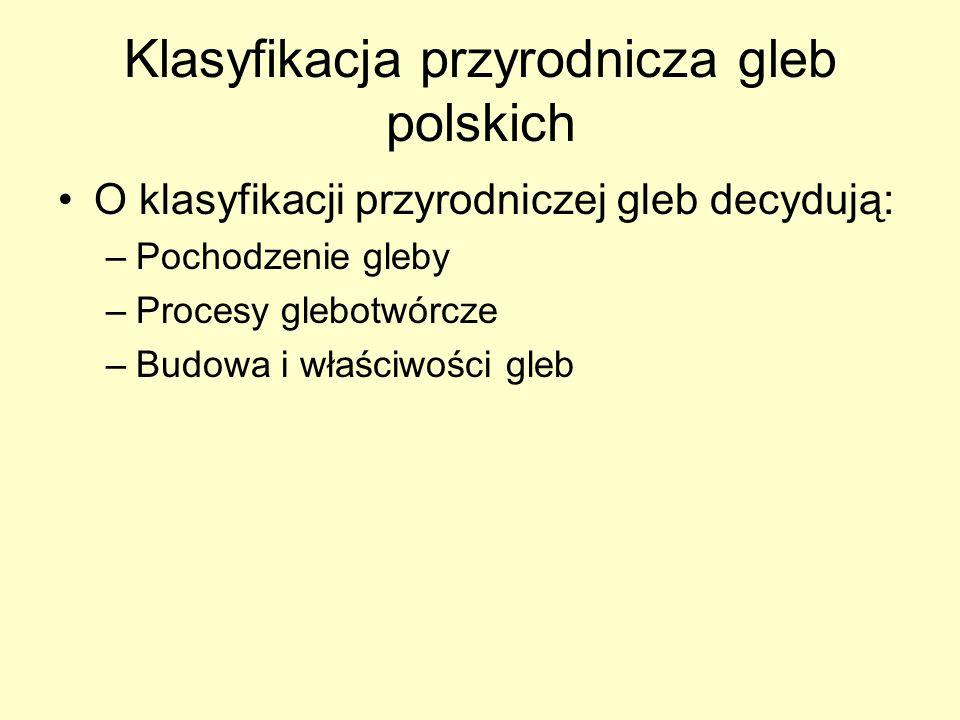Klasyfikacja przyrodnicza gleb polskich