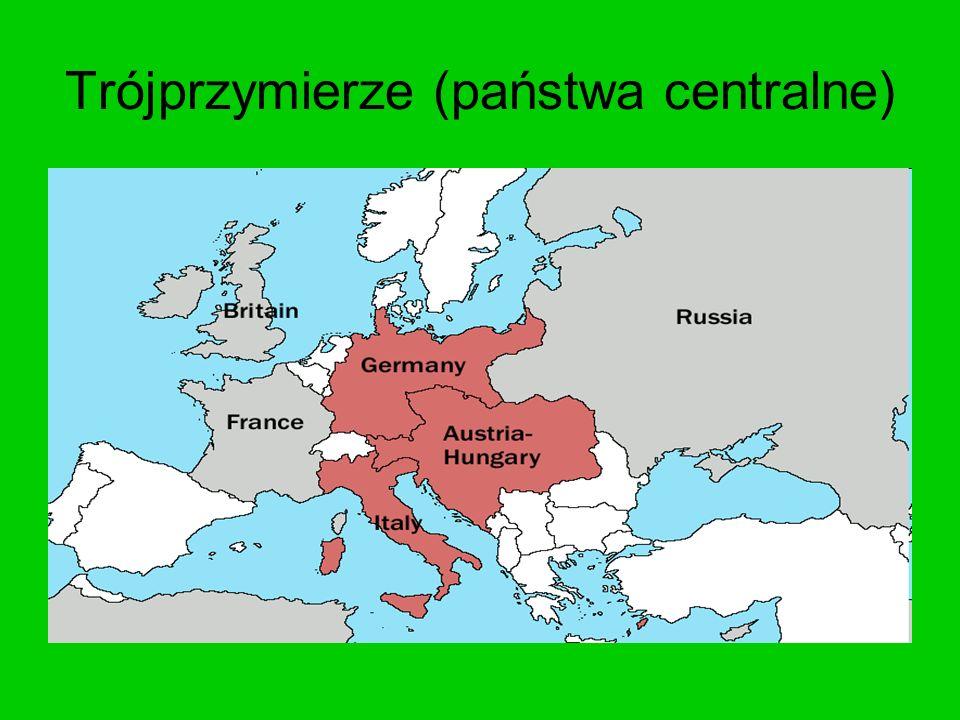 Trójprzymierze (państwa centralne)