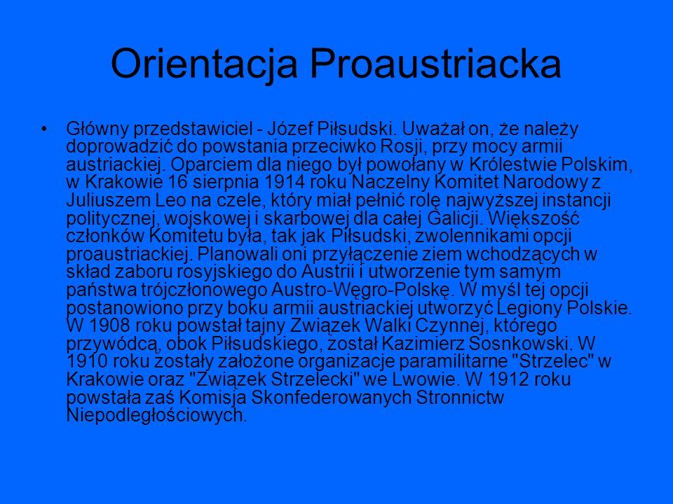 Orientacja Proaustriacka