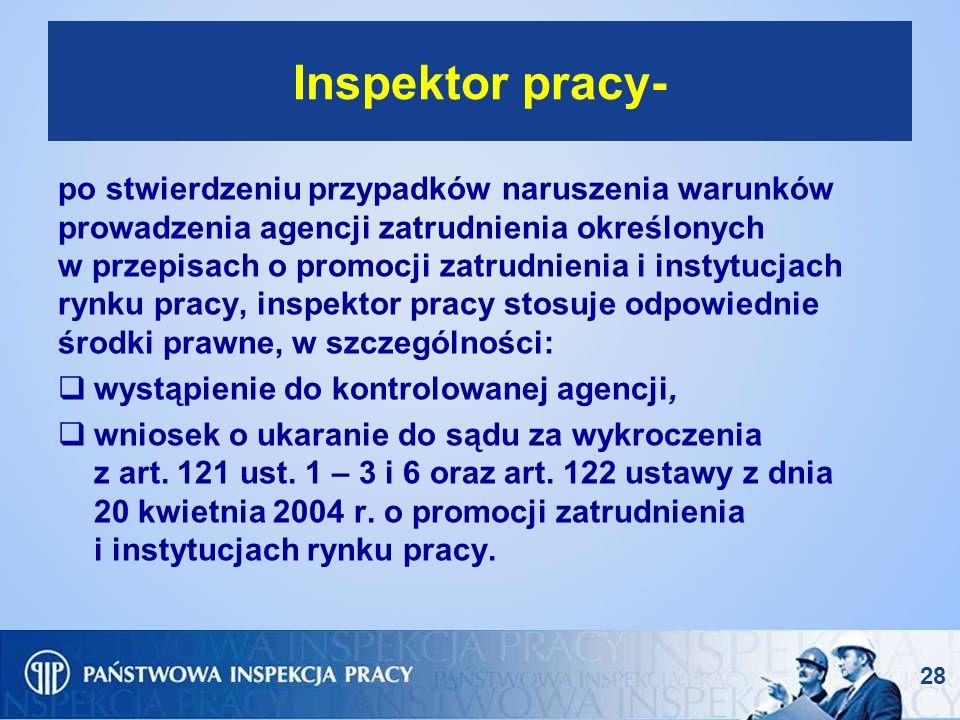 Inspektor pracy-