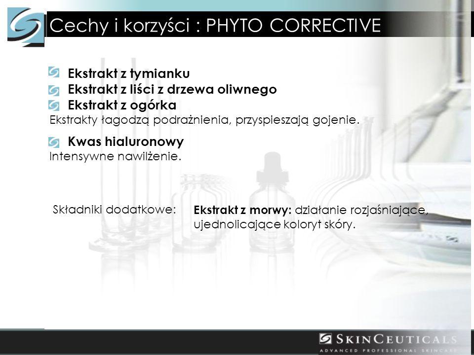 Cechy i korzyści : PHYTO CORRECTIVE