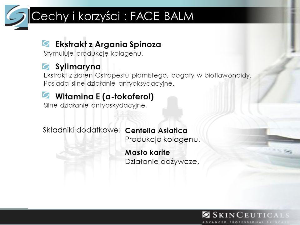 Cechy i korzyści : FACE BALM