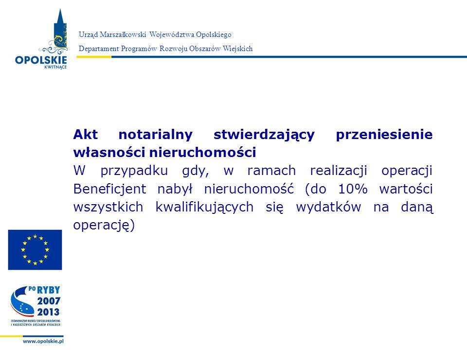 Akt notarialny stwierdzający przeniesienie własności nieruchomości