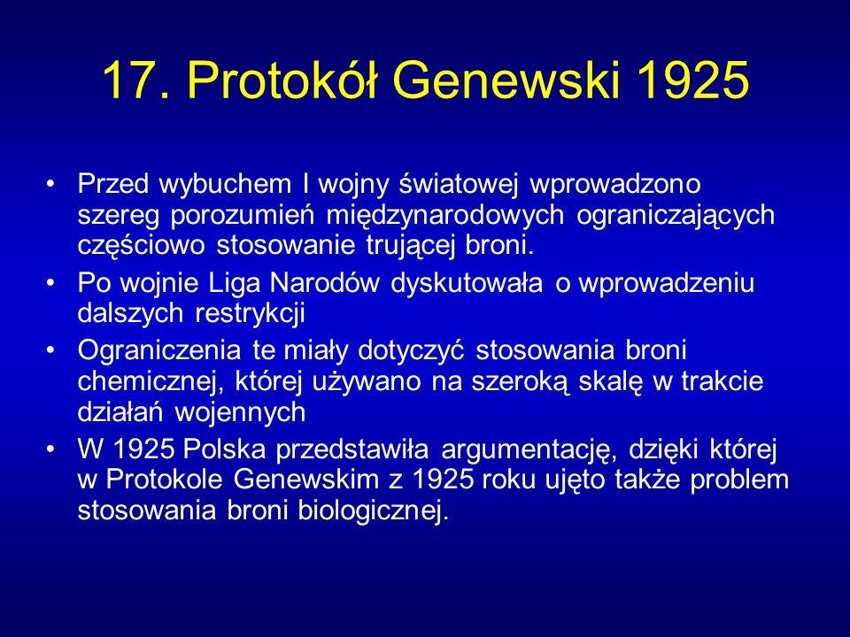 17. Protokół Genewski 1925