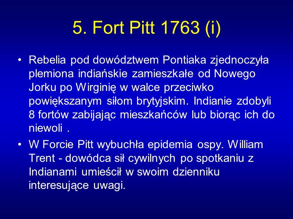 5. Fort Pitt 1763 (i)