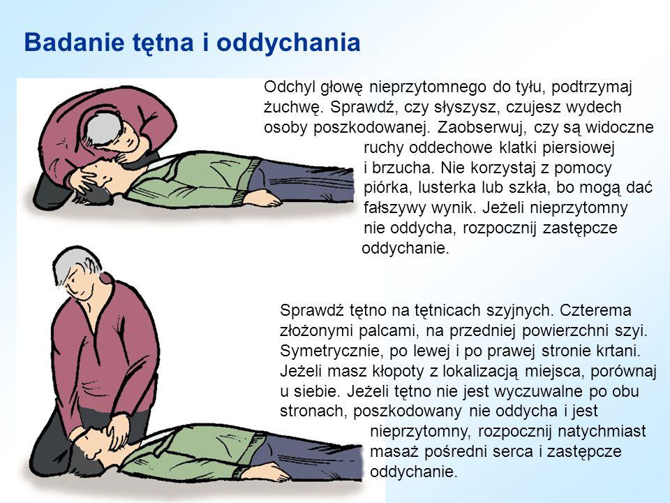 Badanie tętna i oddychania