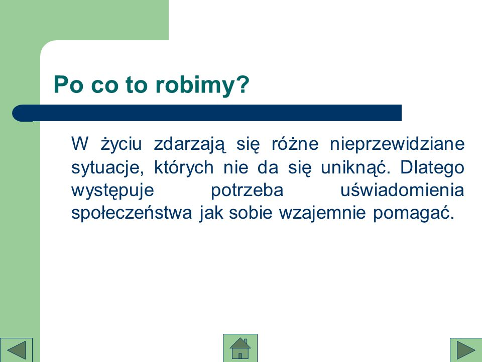 Po co to robimy