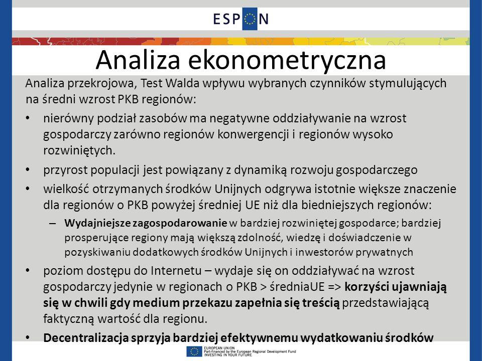 Analiza ekonometryczna