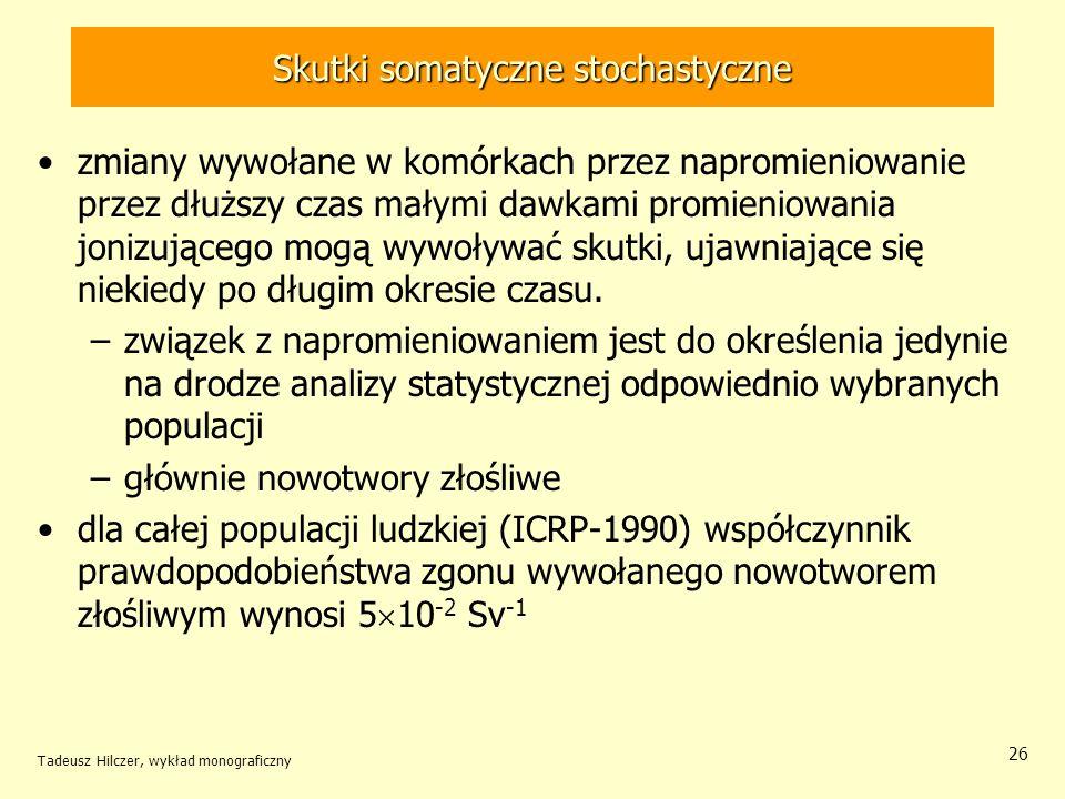 Skutki somatyczne stochastyczne