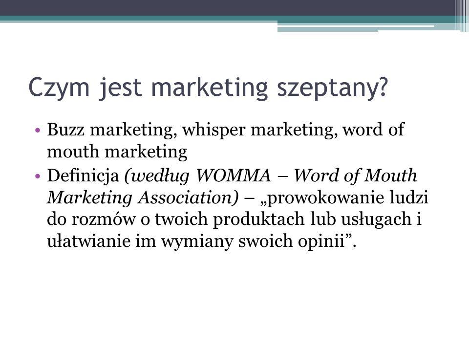 Czym jest marketing szeptany