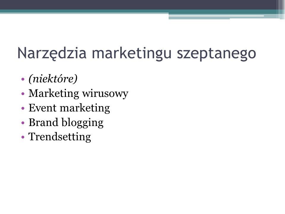 Narzędzia marketingu szeptanego