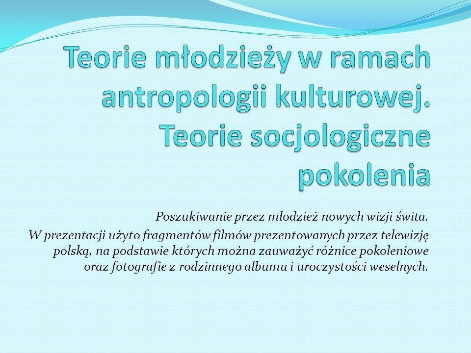 Teorie młodzieży w ramach antropologii kulturowej