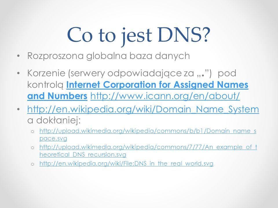 Co to jest DNS Rozproszona globalna baza danych
