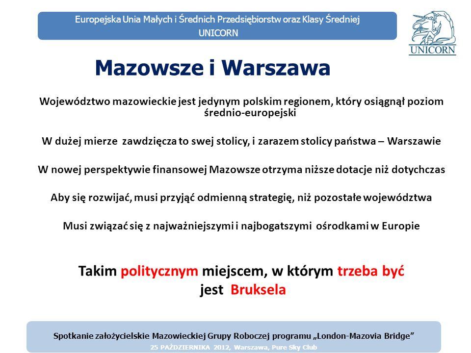 Mazowsze i Warszawa Takim politycznym miejscem, w którym trzeba być