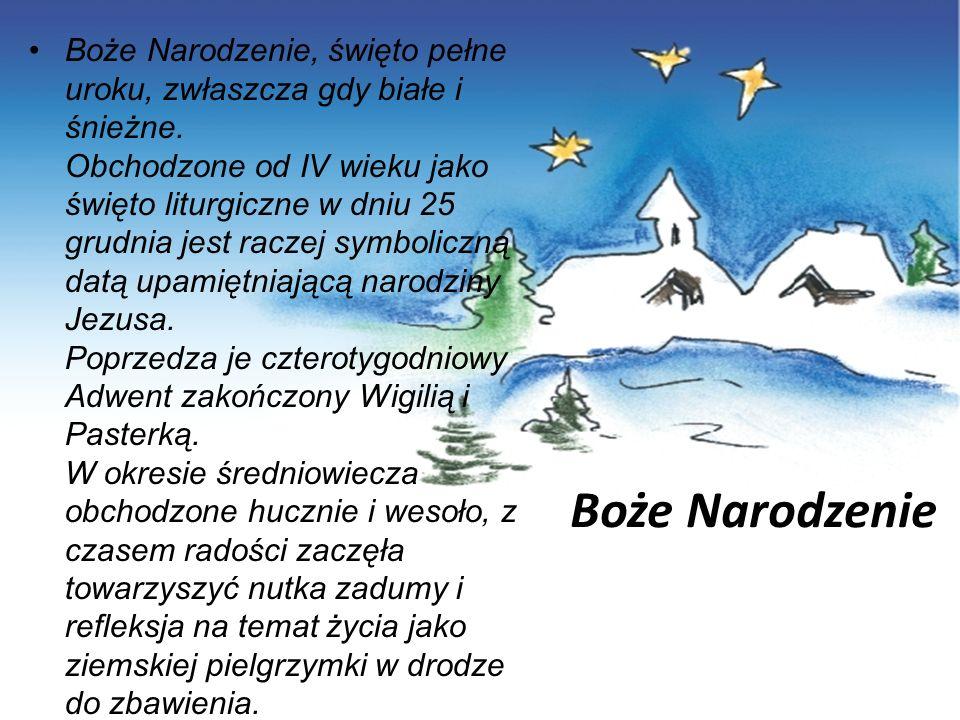 Boże Narodzenie, święto pełne uroku, zwłaszcza gdy białe i śnieżne