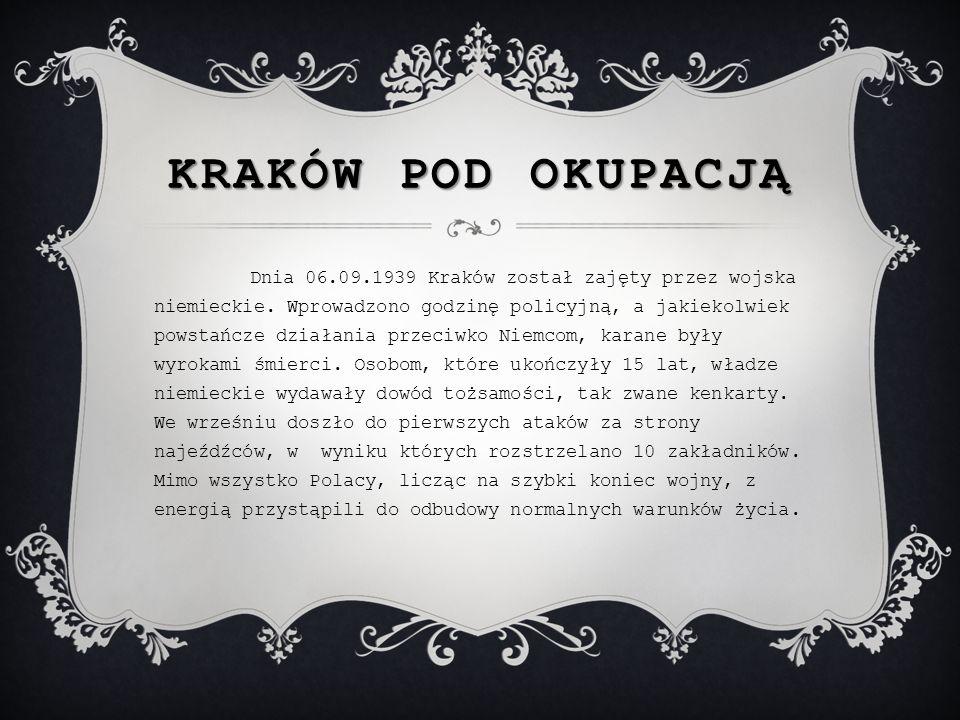 Kraków pod okupacją