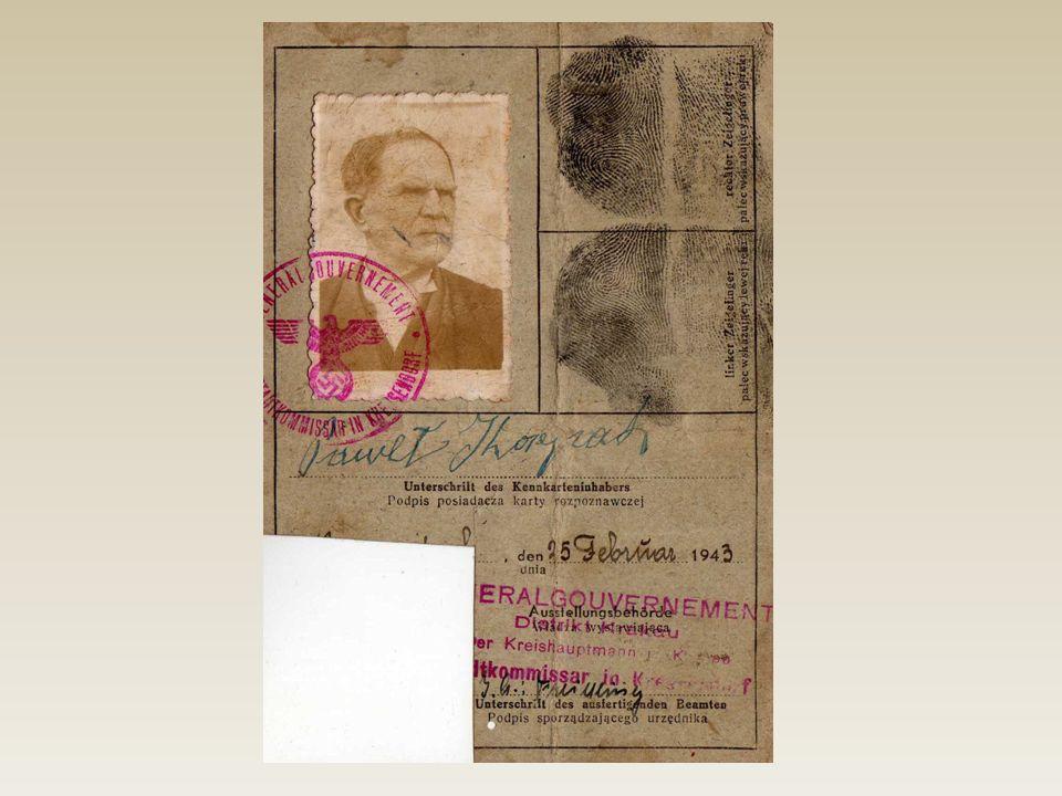 Przykładowa kenkarta pochodząca z roku 1943