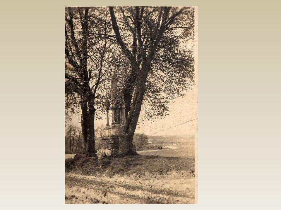 Widok kapliczki z 1942r.