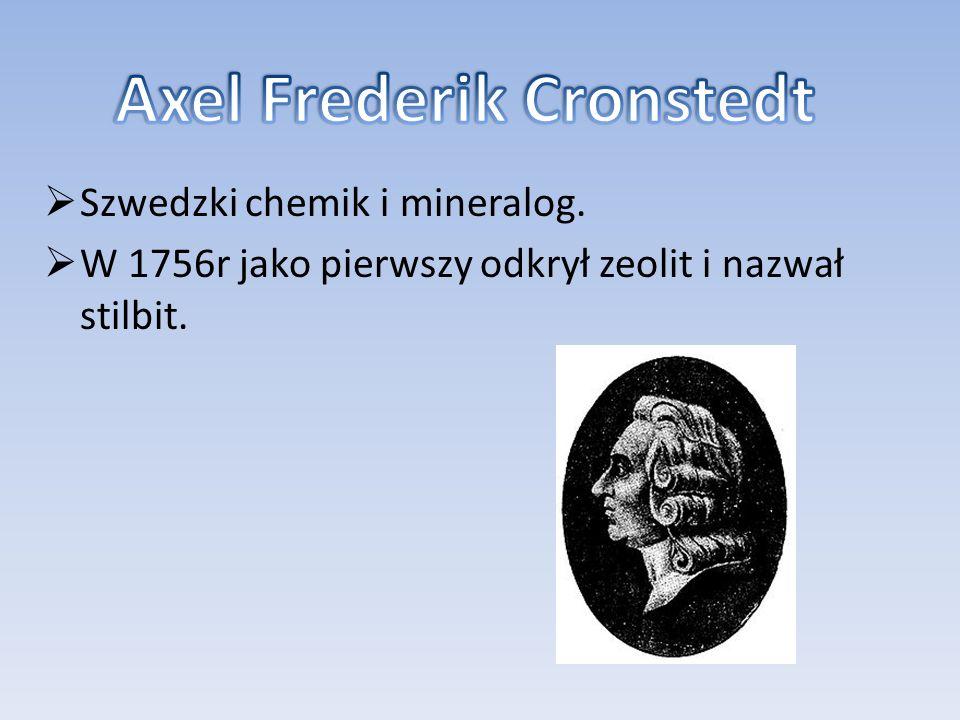 Axel Frederik Cronstedt