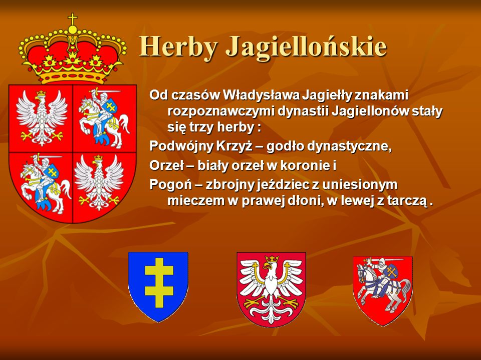 Herby Jagiellońskie