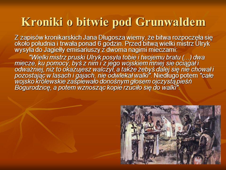 Kroniki o bitwie pod Grunwaldem