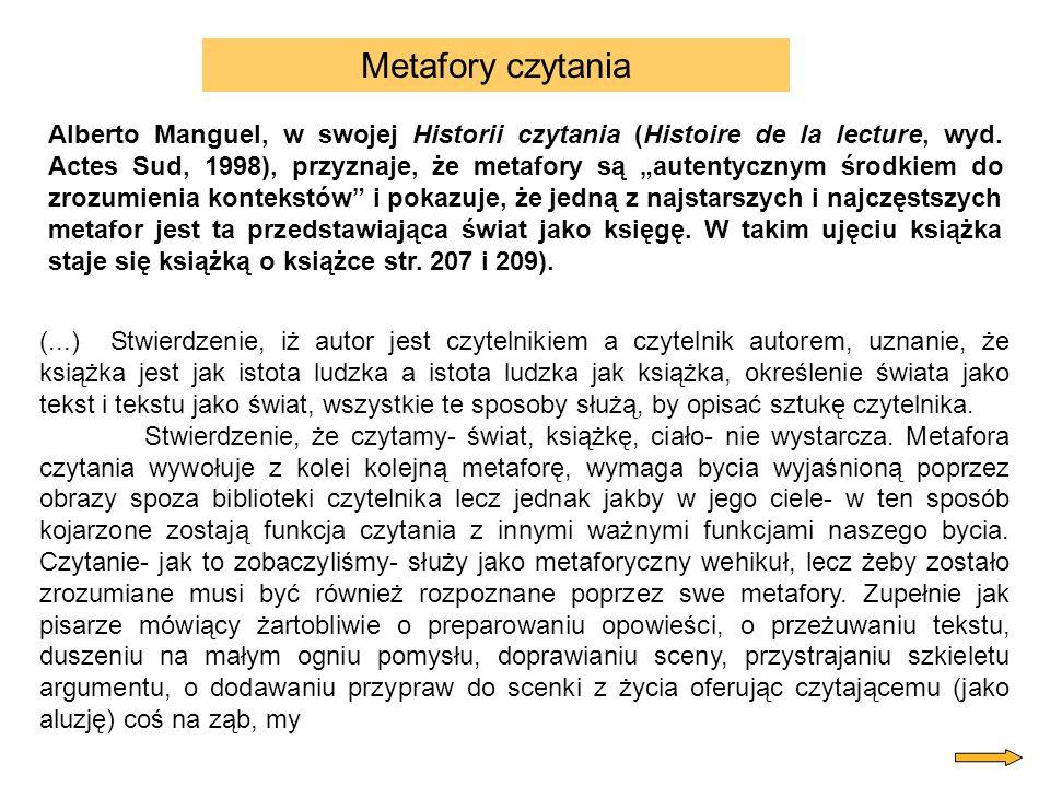 Metafory czytania