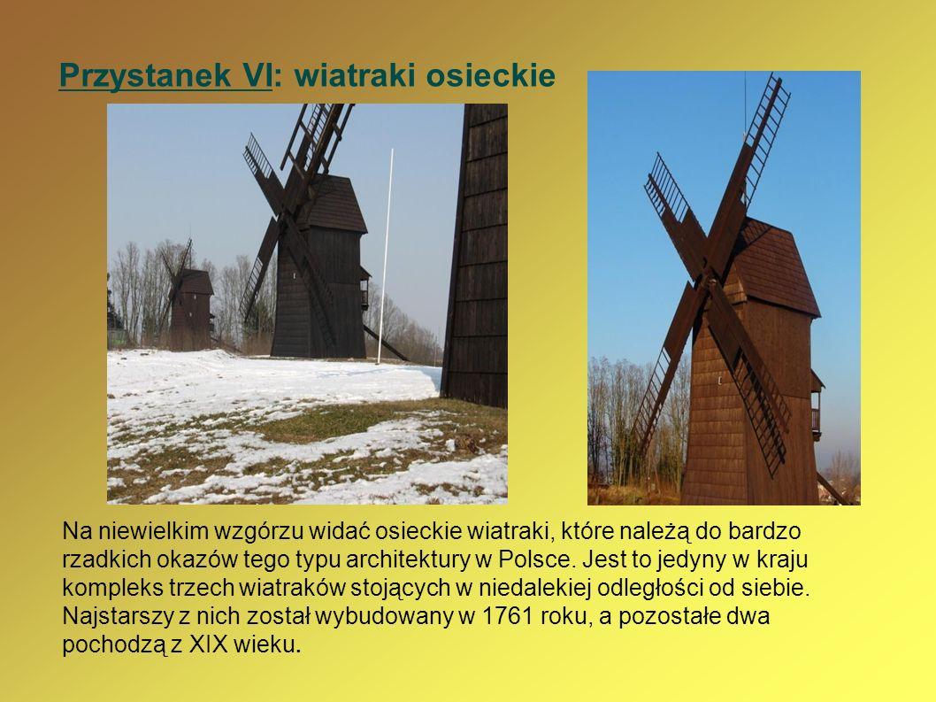 Przystanek VI: wiatraki osieckie