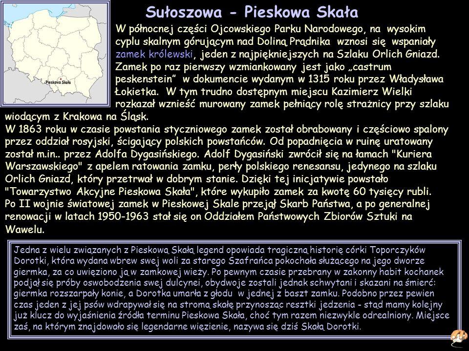 Sułoszowa - Pieskowa Skała