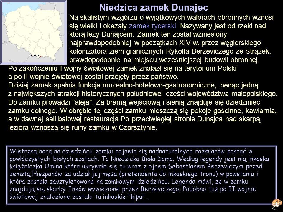 Niedzica zamek Dunajec