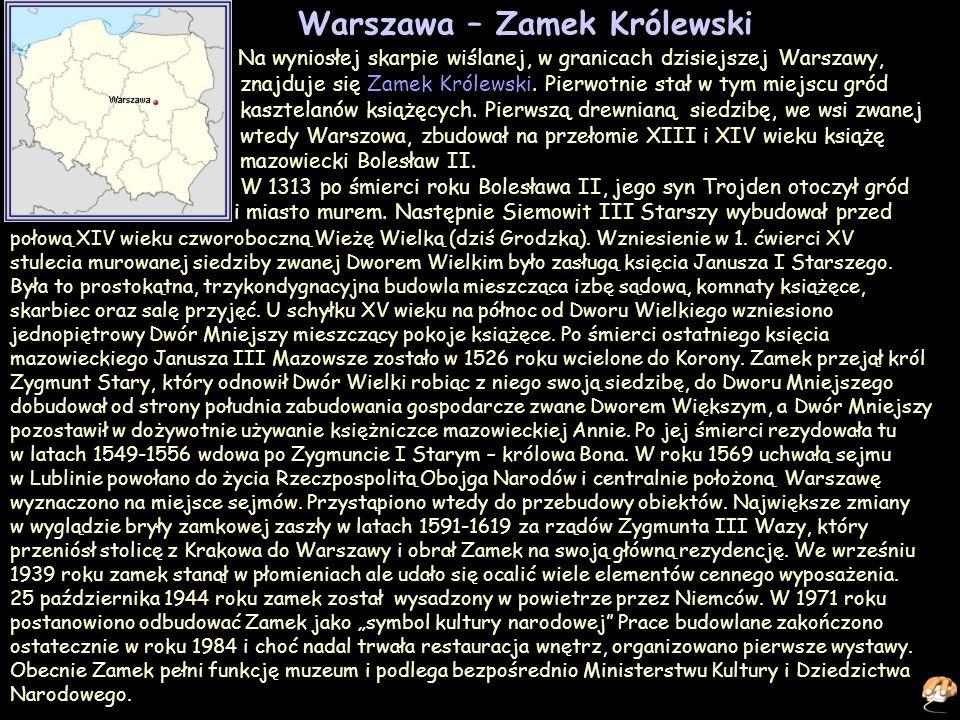 Warszawa – Zamek Królewski