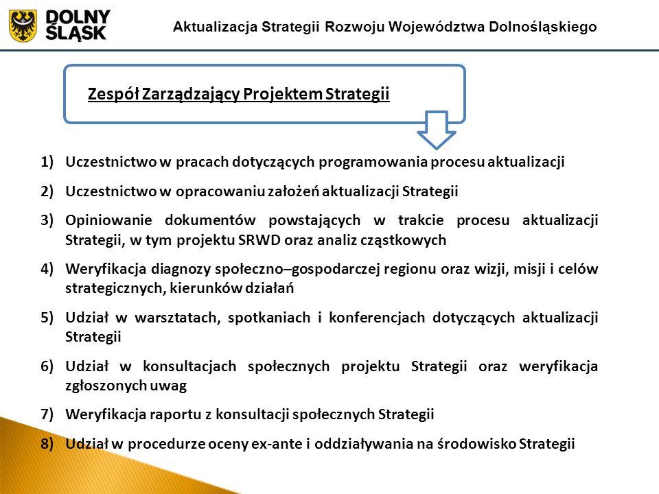 Zespół Zarządzający Projektem Strategii