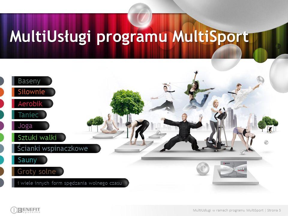 MultiUsługi programu MultiSport