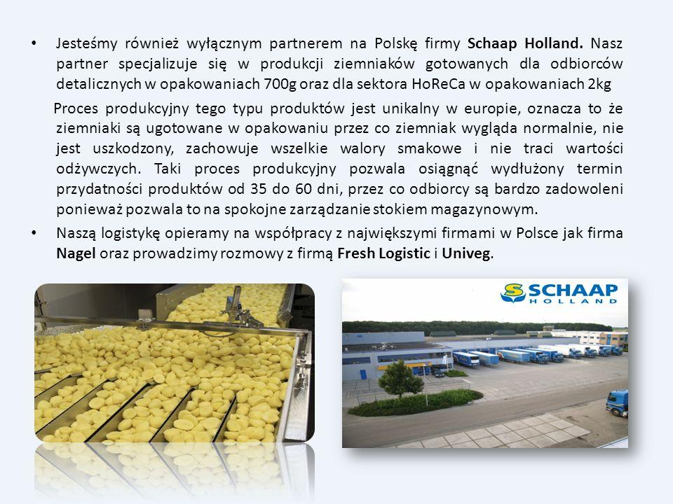 Jesteśmy również wyłącznym partnerem na Polskę firmy Schaap Holland