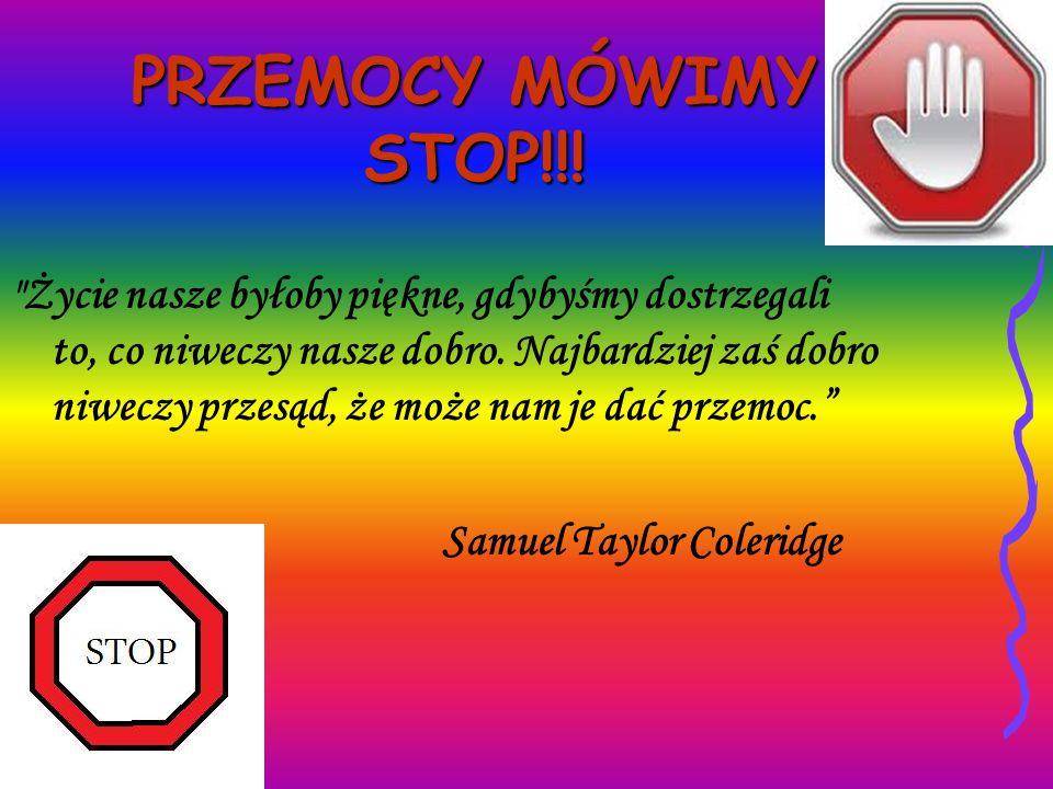 PRZEMOCY MÓWIMY STOP!!!
