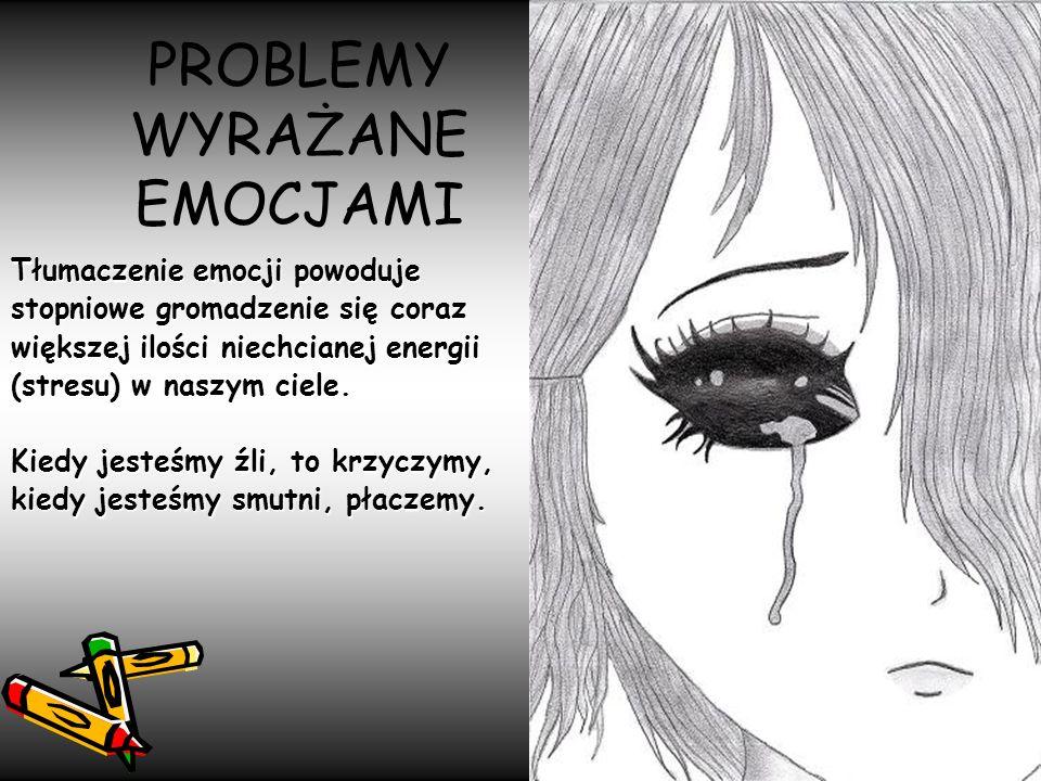 PROBLEMY WYRAŻANE EMOCJAMI