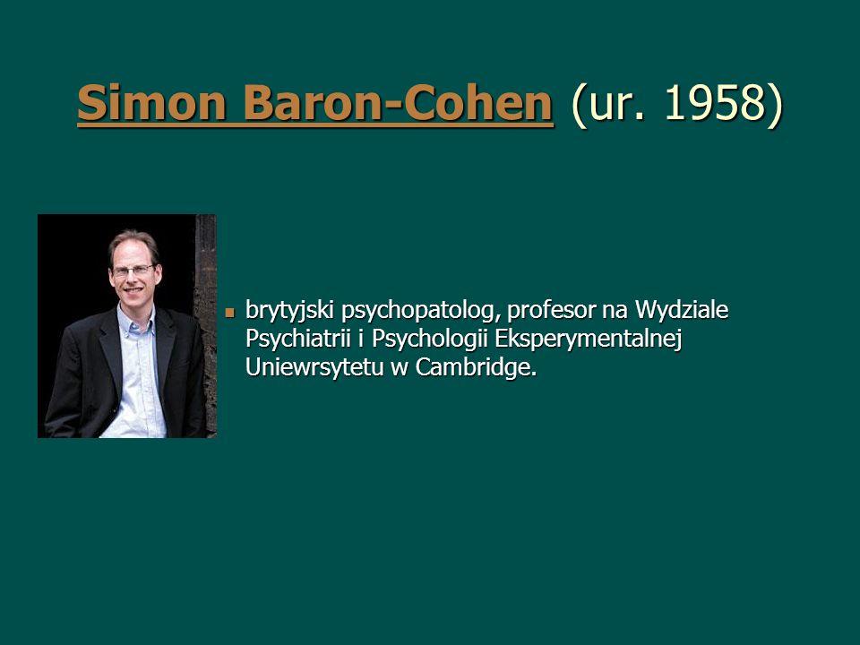 Simon Baron-Cohen (ur. 1958)