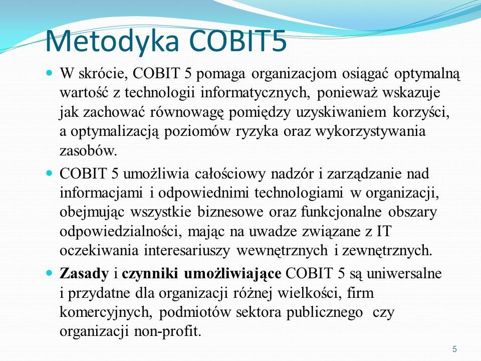 Metodyka COBIT5