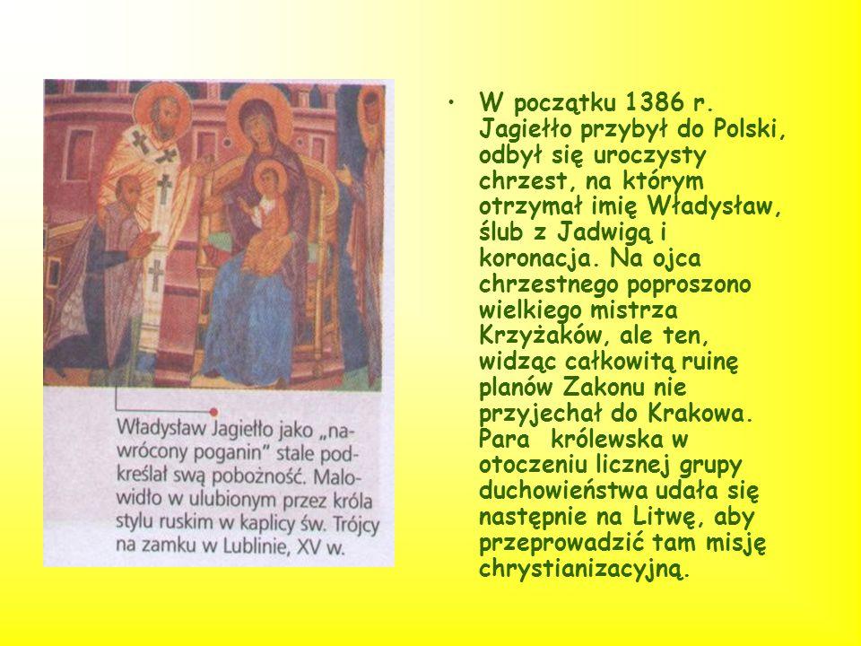 W początku 1386 r.
