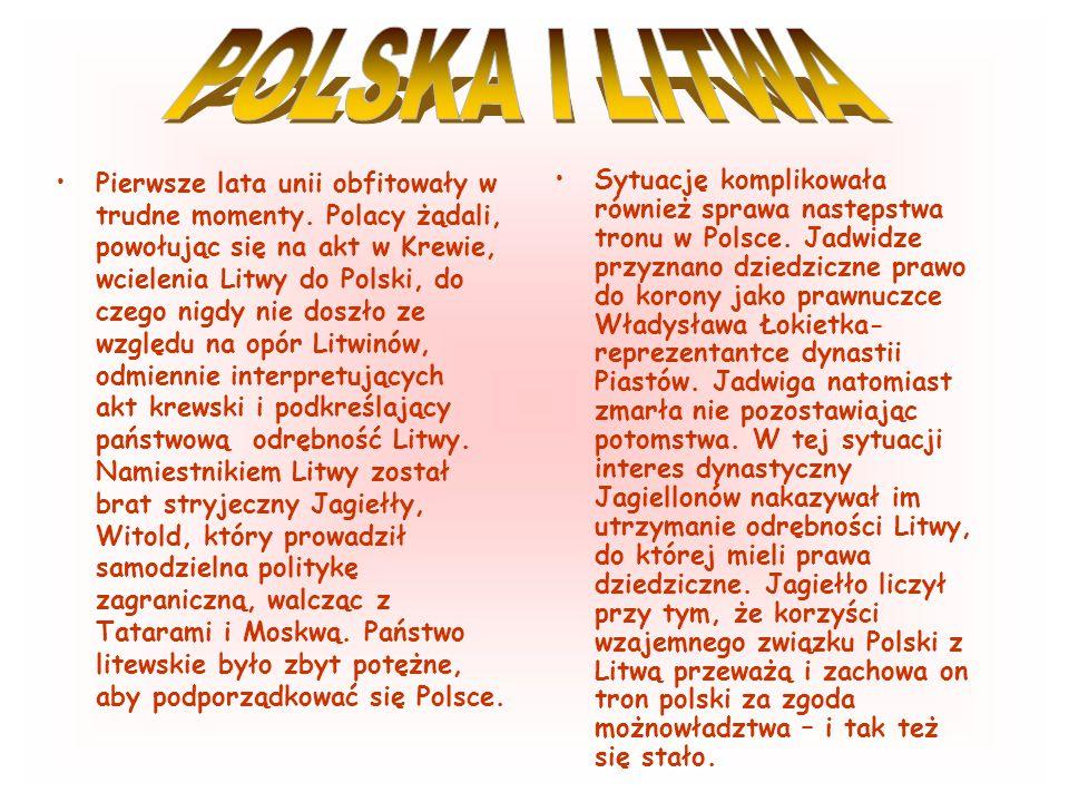 POLSKA I LITWA