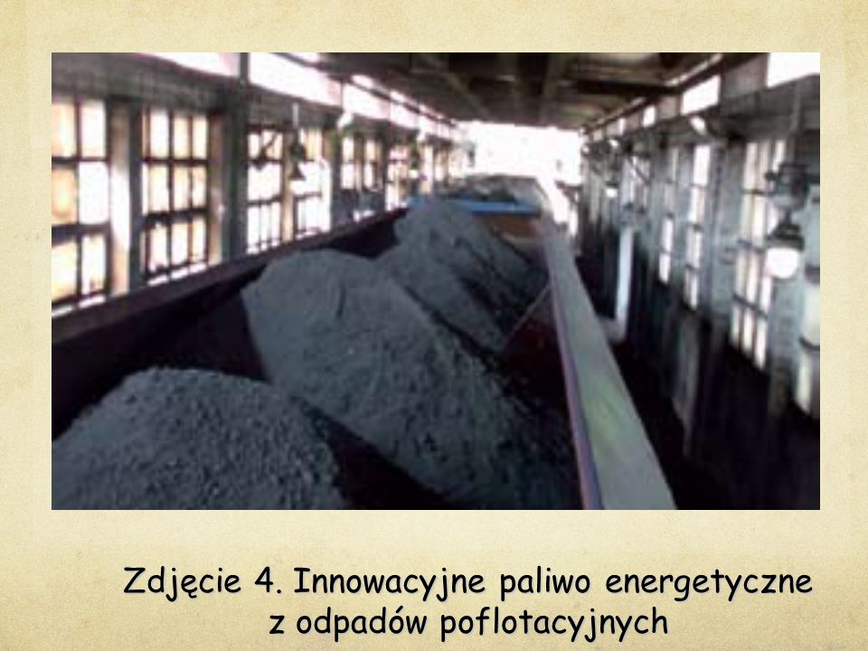 Zdjęcie 4. Innowacyjne paliwo energetyczne z odpadów poflotacyjnych