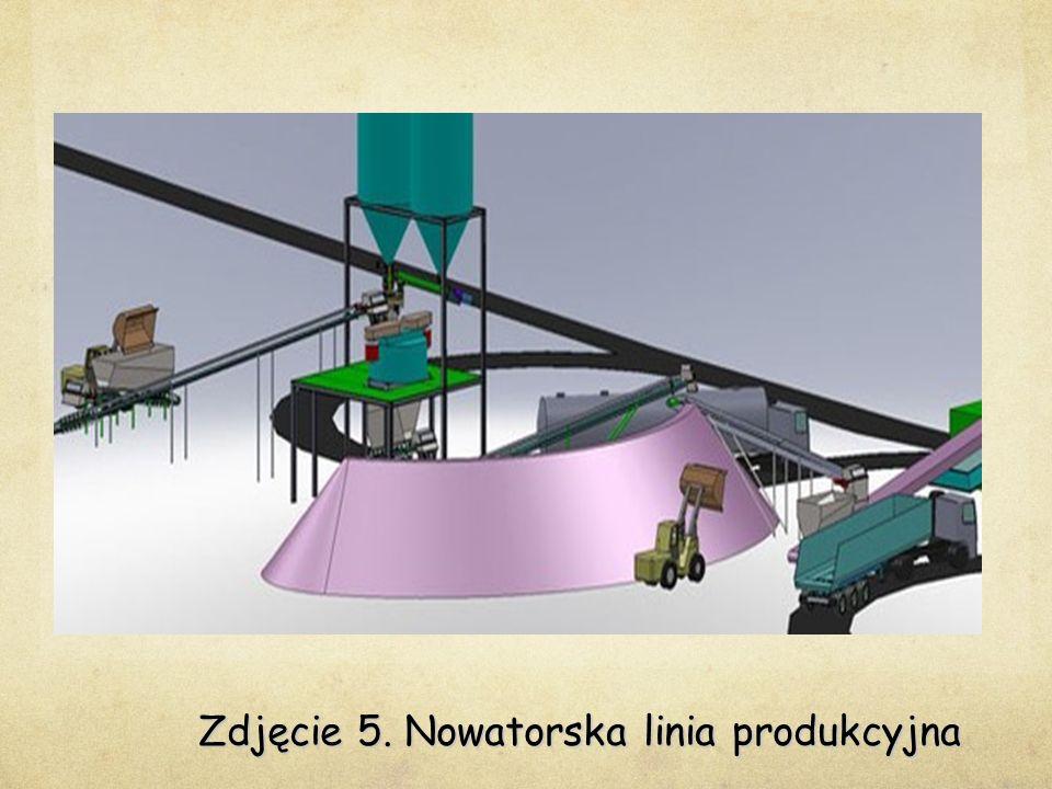 Zdjęcie 5. Nowatorska linia produkcyjna