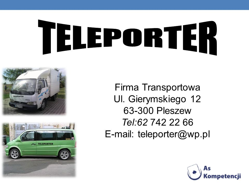 E-mail: teleporter@wp.pl