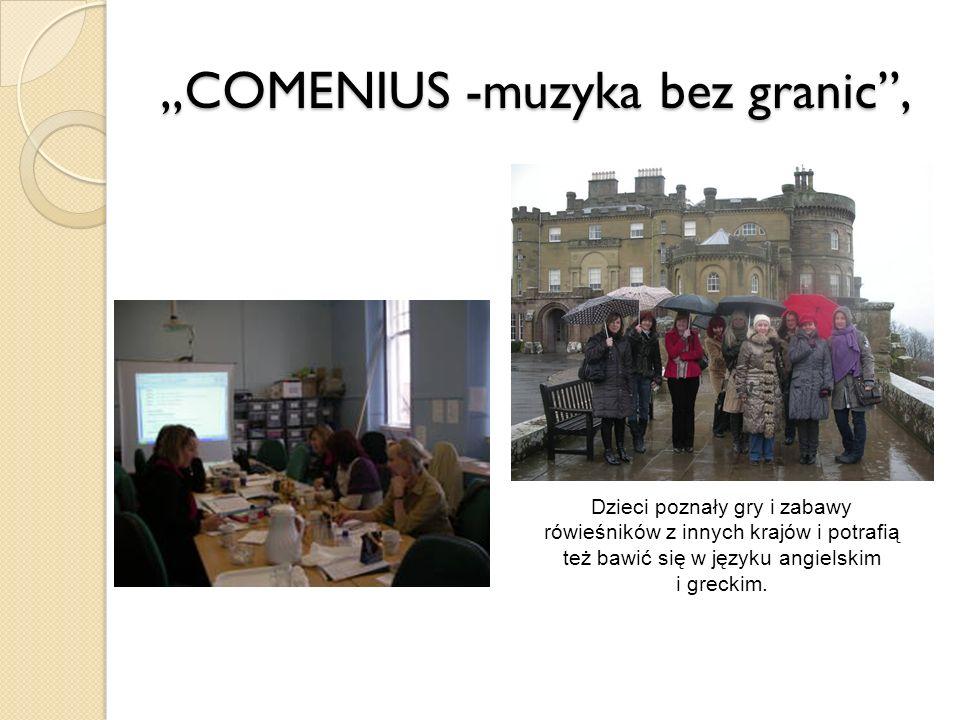 ,,COMENIUS -muzyka bez granic ,