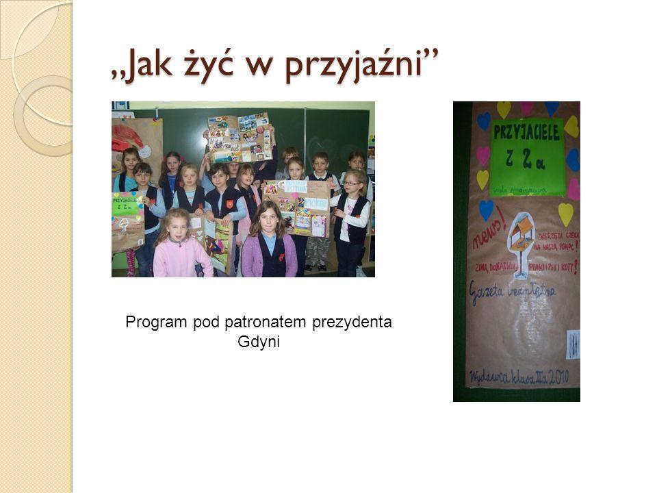 Program pod patronatem prezydenta Gdyni