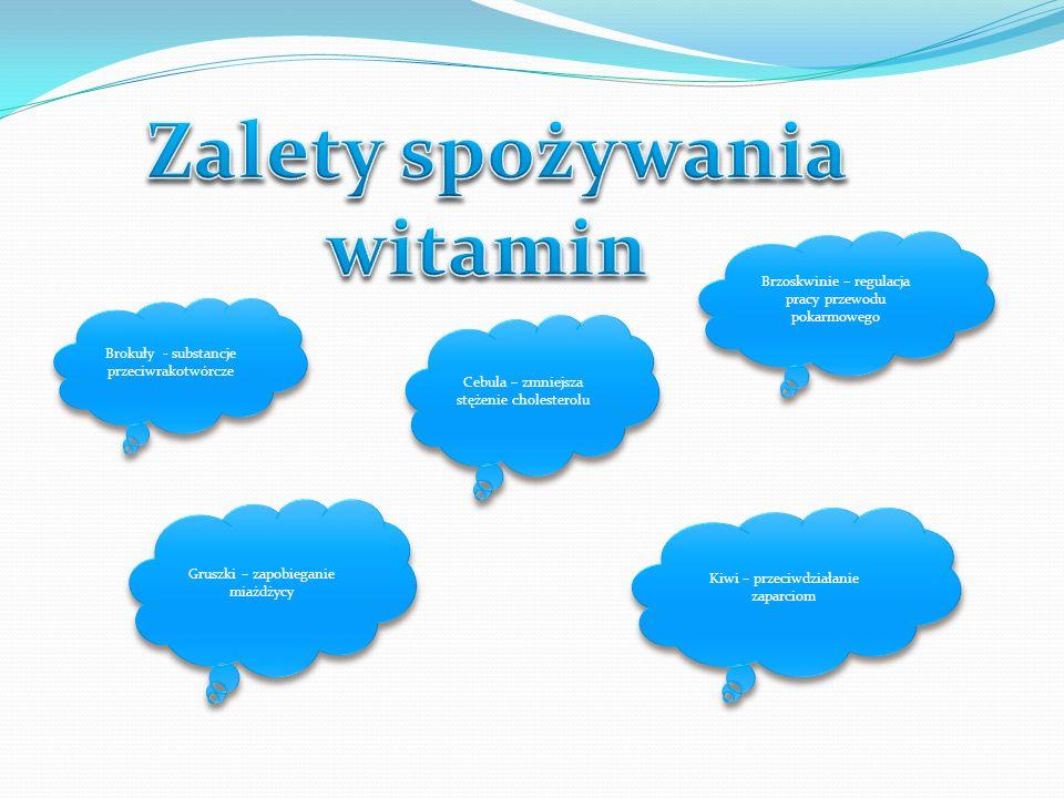 Zalety spożywania witamin