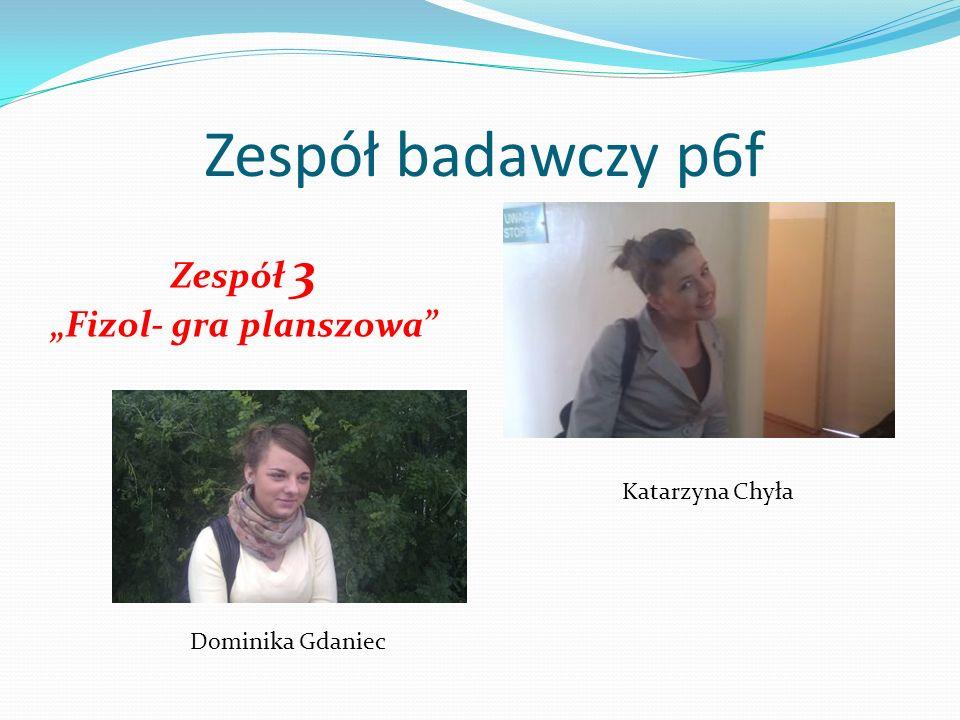 """""""Fizol- gra planszowa"""