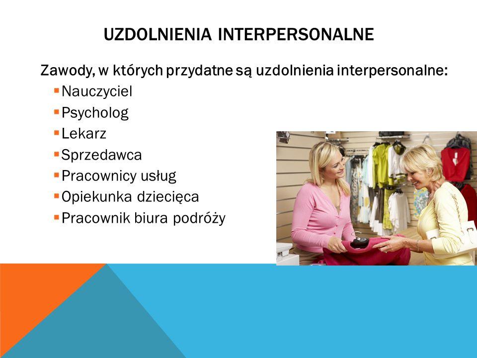Uzdolnienia Interpersonalne