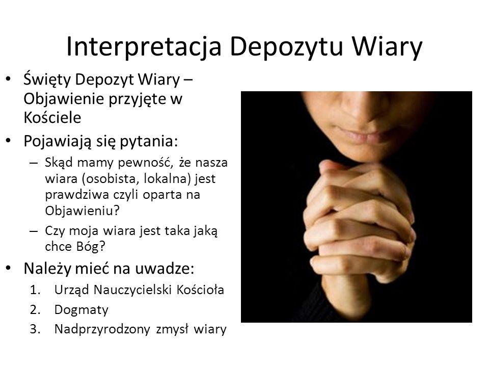 Interpretacja Depozytu Wiary