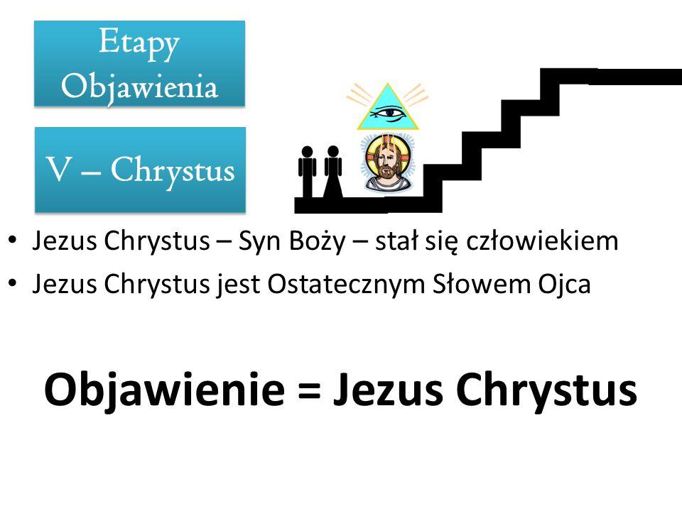Objawienie = Jezus Chrystus