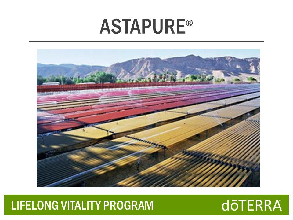ASTAPURE® LIFELONG VITALITY PROGRAM